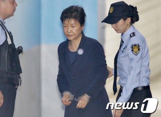 박근혜 전 대통령© News1 구윤성 기자