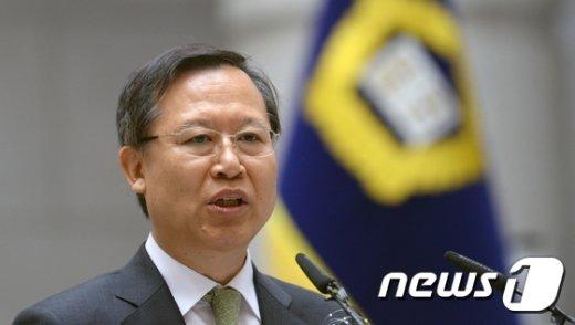 [사진]박병대 대법관,'마지막 인사말'