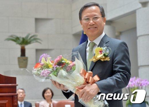 [사진]박병대 대법관,' 오늘 퇴임합니다'