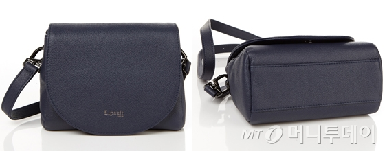 PLUME ELEGANCE CROSS BODY BAG XS NAVY /사진제공=리뽀