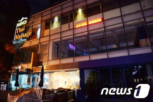 [사진]'구속영장 기각' 정유라, 검찰 나서 먼저 간곳은 최순실씨 소유 빌딩