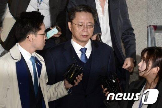우병우 전 청와대 민정수석 © News1 민경석 기자