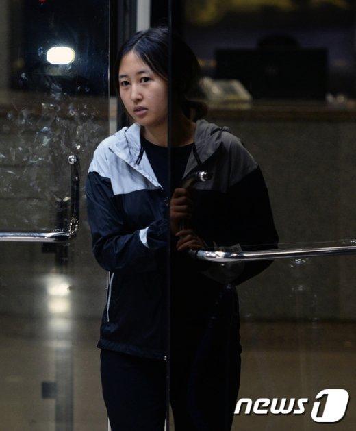 [사진]정유라 '구치소 대신 집으로'