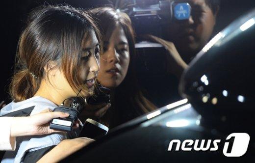 [사진]정유라, 구속영장 또 기각
