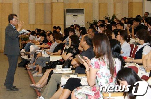 [사진]2017혁신교육콘서트 참석한 조희연 교육감