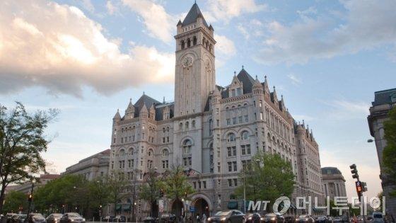 워싱턴 DC에 위치한 트럼프 인터네셔날 호텔