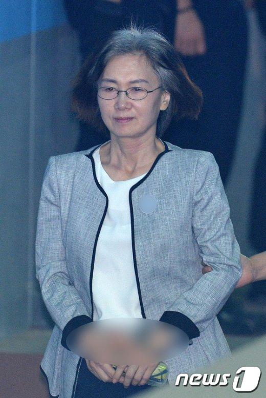 [사진]'정유라 특혜' 최경희 전 이대 총장 1심서 징역 2년