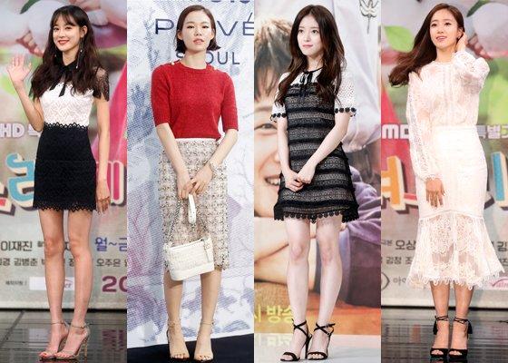왼쪽부터 배우 이주연, 한예리, 이세영, 티아라 은정 /사진=머니투데이DB