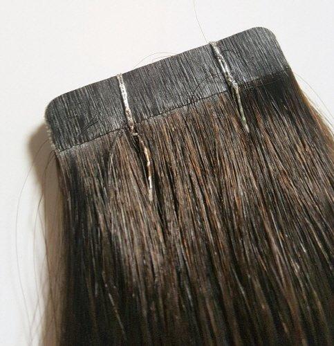 ▲기존 붙임머리가발 제품의 단점을 보완, 간편한 방식으로 탈부착이 가능하다.