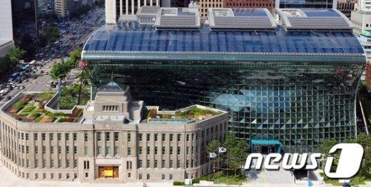 서울시청 전경.© News1