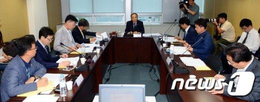 [사진]세월호 선체조사위 제7차 전원위원회의