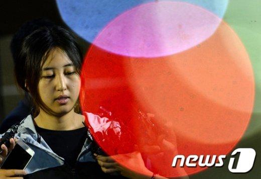 정유라씨. /뉴스1 © News1 오대일 기자