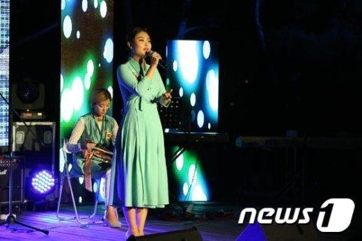 지난해 윤동주창작음악제 공연 모습(종로구 제공)© News1