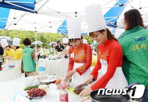 [사진]동대문구, 제2회 다문화 요리 페스티벌 개최