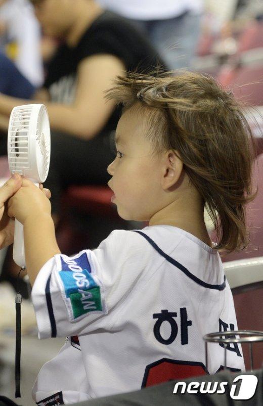 [사진]'아이 시원해'