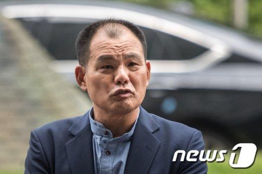 김성호 전 의원. 2017.7.3/뉴스1 © News1 성동훈 기자