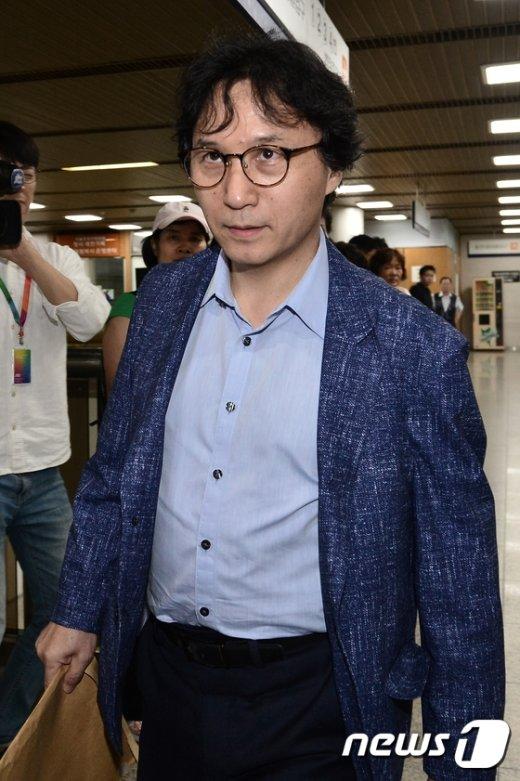 [사진]'엘리엇 저격수' 신장섭 교수, 삼성 측 증인으로 이재용 공판 출석