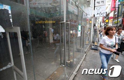 [사진]내수 부진에 영세자영업자 폐업 증가