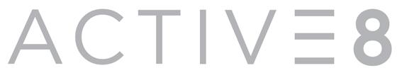 8월말 론칭 예정인 에잇세컨즈 애슬레저 라인 '액티브에잇'(ACTIVE 8) 로고/사진제공=삼성물산 패션부문