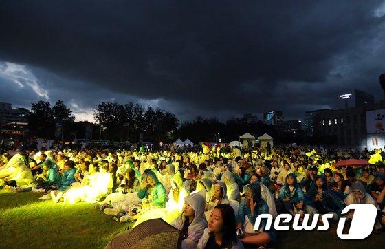 [사진]서울 문화의 밤,' 밤이 되면 축제가 시작된다'