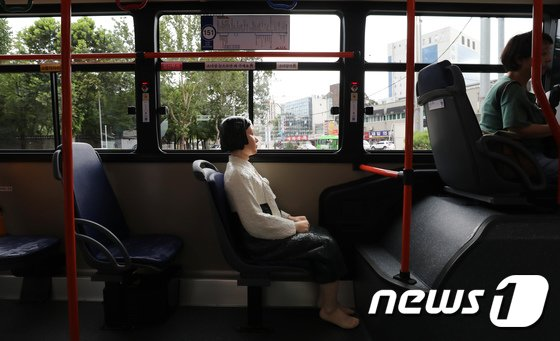 [사진]소녀상은 서울시내 구경중