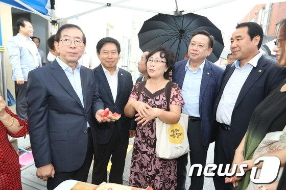 [사진]금천구 주거재생사업지 찾은 박원순 시장