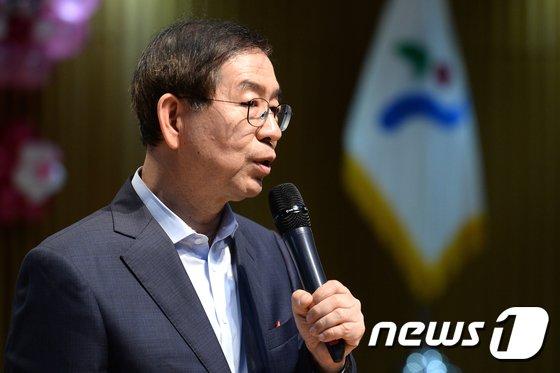 박원순 서울시장 2017.8.8/뉴스1 © News1 황기선 기자