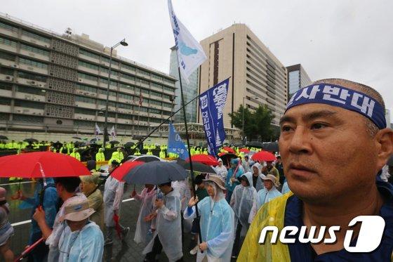 [사진]'사드 결사 반대'