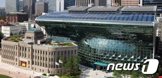 서울시청 전경© News
