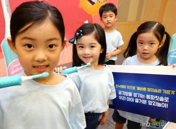 [사진]우리 아이 올바른 양치습관 기르기