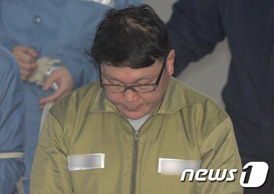 정운호 전 네이처리퍼블릭 대표. 2017.4.21/뉴스1 © News1 신웅수 기자