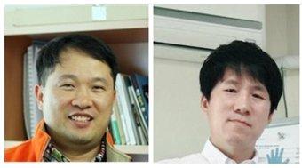 전용석 교수(왼쪽)와 윤용주 교수.(건국대학교 제공) © News1
