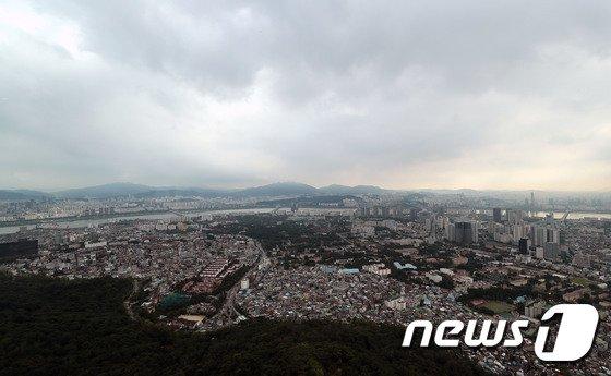 [사진]비구름 가득한 서울