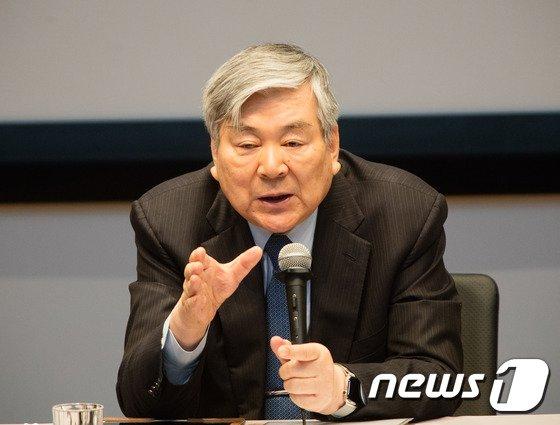 조양호 한진그룹 회장. (대한항공 제공) 2017.2.3/뉴스1