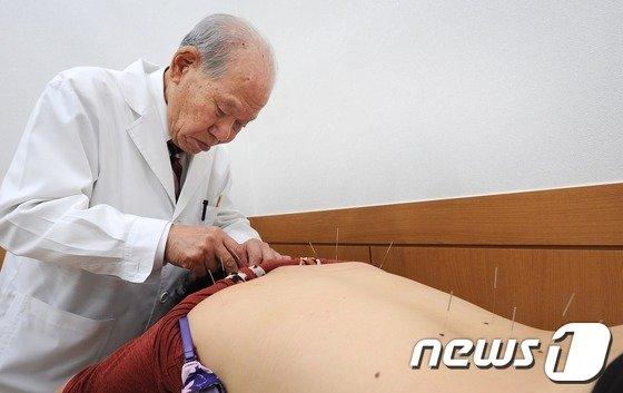 구당 김남수(옹2013.1.21/뉴스1