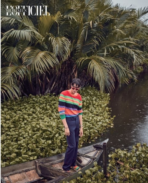 베트남 다낭에서 가을을 맞이한 김영광