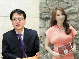 (좌)이성득 국제회의 동시통역사, (우)박나경 영어MC 및 아나운서/사진제공=탑클래스아카데미