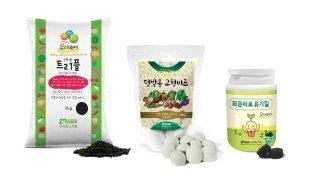 (株)NOUSBO的家庭园艺产品(Enviall Triple,菜园固体肥料,花盆肥料有机质)/照片提供=(株)NOUSBO
