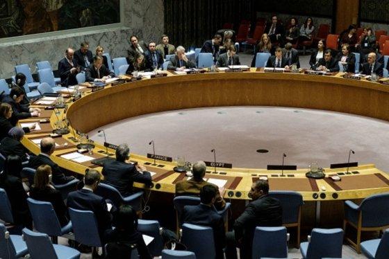 유엔 안보리 회의모습. /AFPBBNews=뉴스1