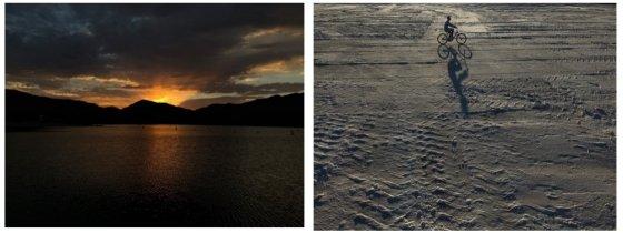 '아이폰X'로 촬영한 사진들.