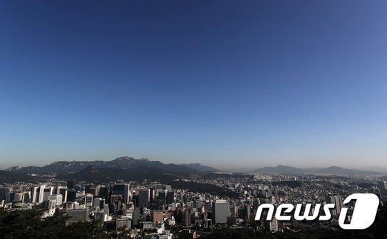 [사진]'파란 가을하늘'