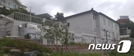 올해 2학기 개관한 상명대 행복공공기숙사 전경. (교육부 제공) © News1