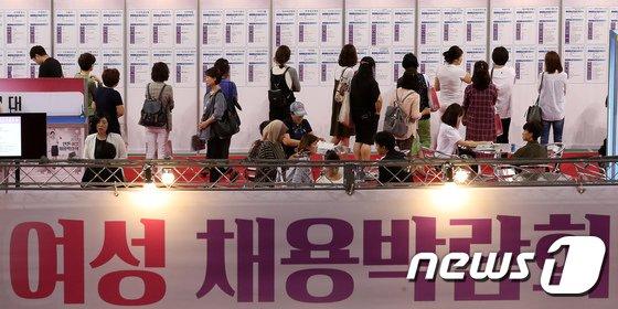 [사진]인천 여성 채용박람회