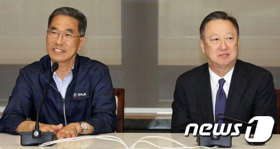[사진]김주형 한국노총 위원장, 대한상의 방문