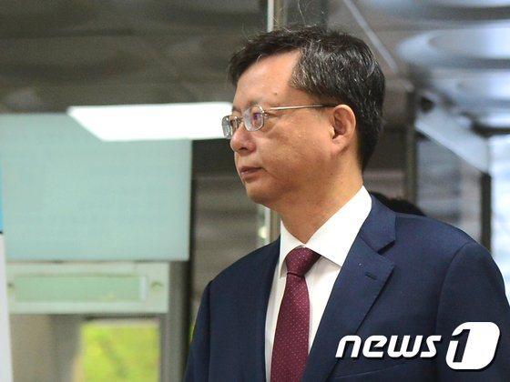 우병우 전 청와대 민정수석. /뉴스1 © News1 임준현 인턴기자