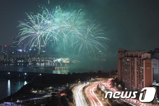 [사진]'화려한 불꽃쇼'