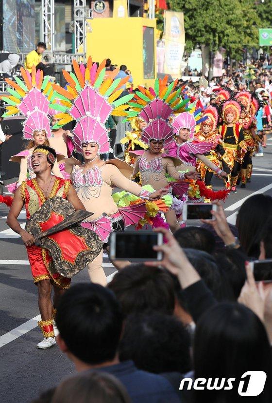 [사진]'지구촌 축제가 열렸네'