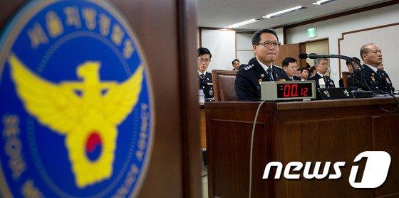 김정훈 서울지방경찰청장.  © News1 유승관 기자