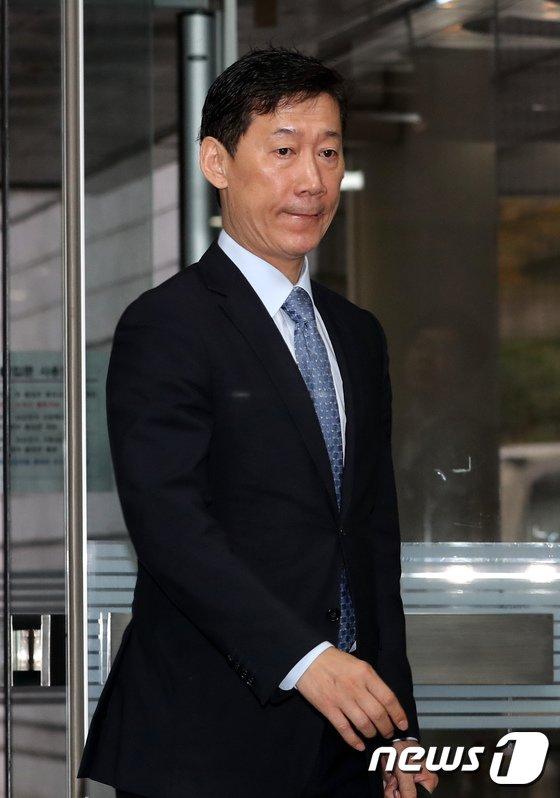 [사진]조윤선 남편 박성엽 변호사, 항소심 공판 출석