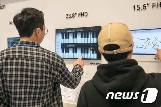 [사진]'최신 디스플레이 기술로 더 실감나게'